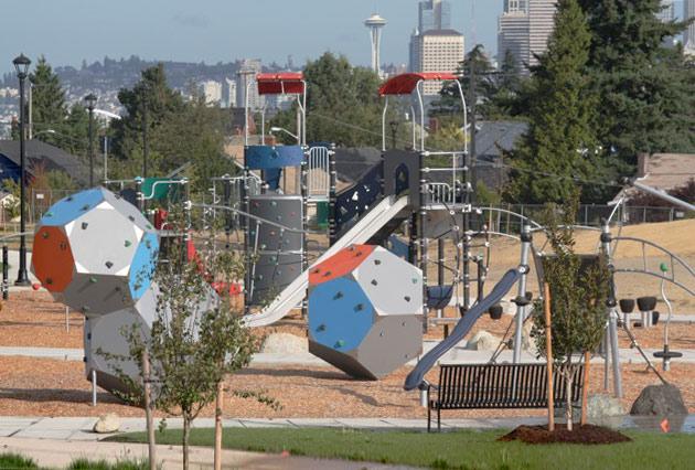 Jefferson Park Playground Seattle