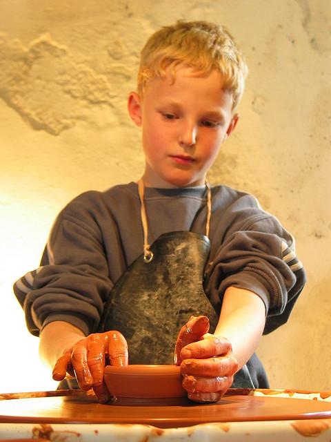 pottery-boy