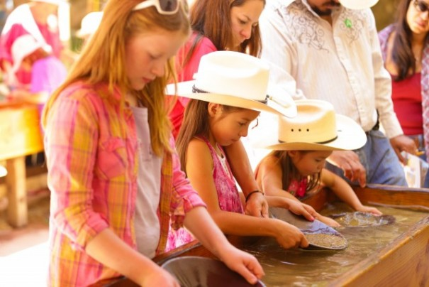 Autry National Center Gold Panning