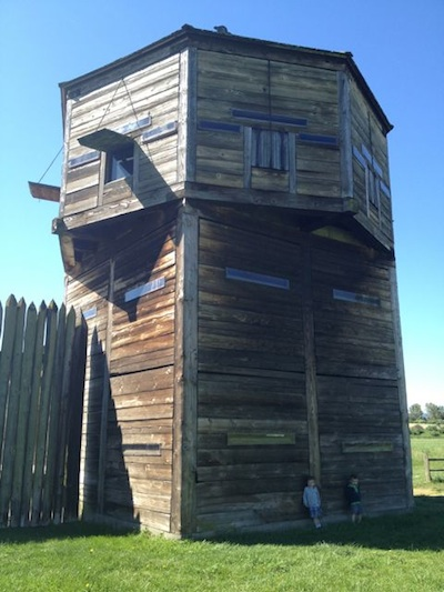 fort vancouver tower c and t