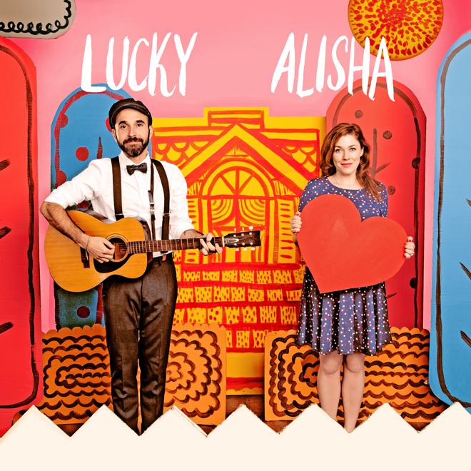 Lucky Diaz and Alisha Gaddis of Lucky Diaz and the Family Jam Band