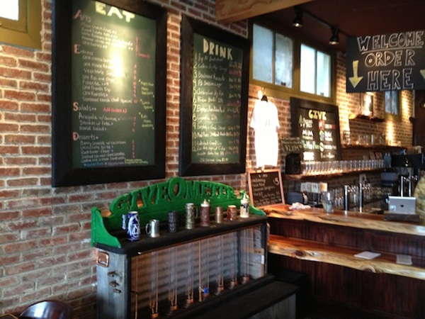 OPH menu and bar