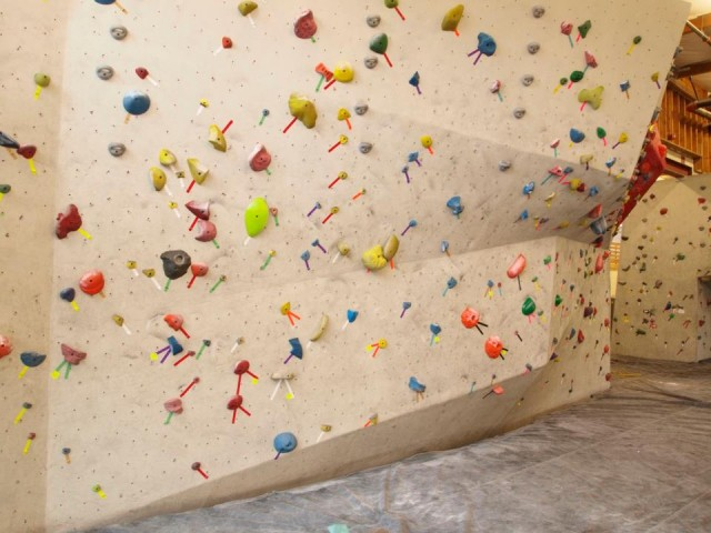 Seattle Bouldering Project climbing wall