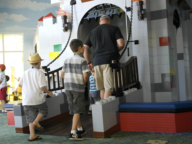 Legoland hotel castle