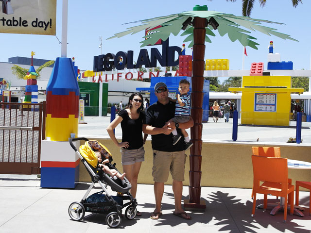 Exclusive access from the Legoland hotel