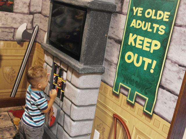 Legoland hotel kid space