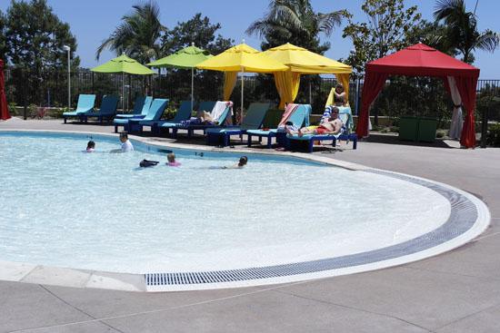 pool entry at Legoland hotel