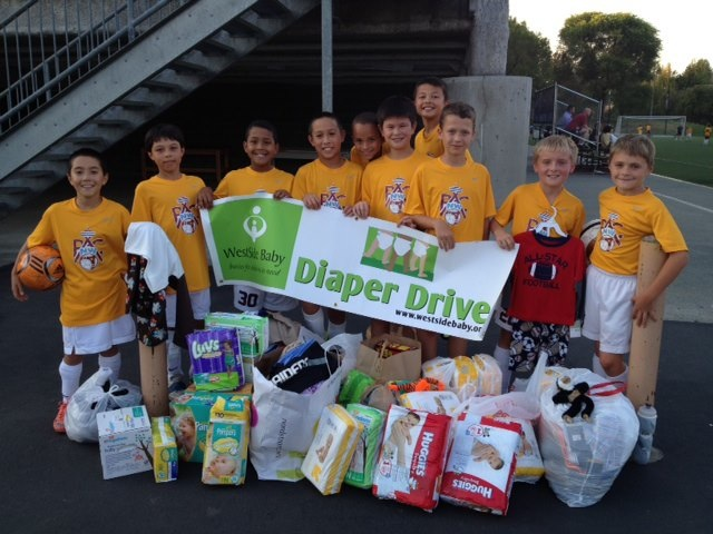 Diaper Drive West Side Baby