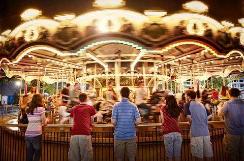 Hershey carrousel