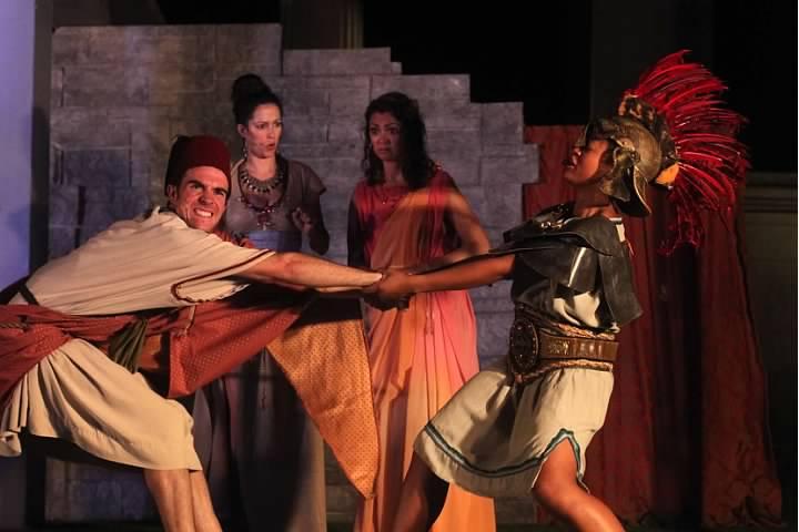 Shakespeare theater actors