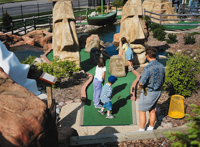 hit the clubs mini golf courses big on fun hit the clubs mini golf courses big on fun