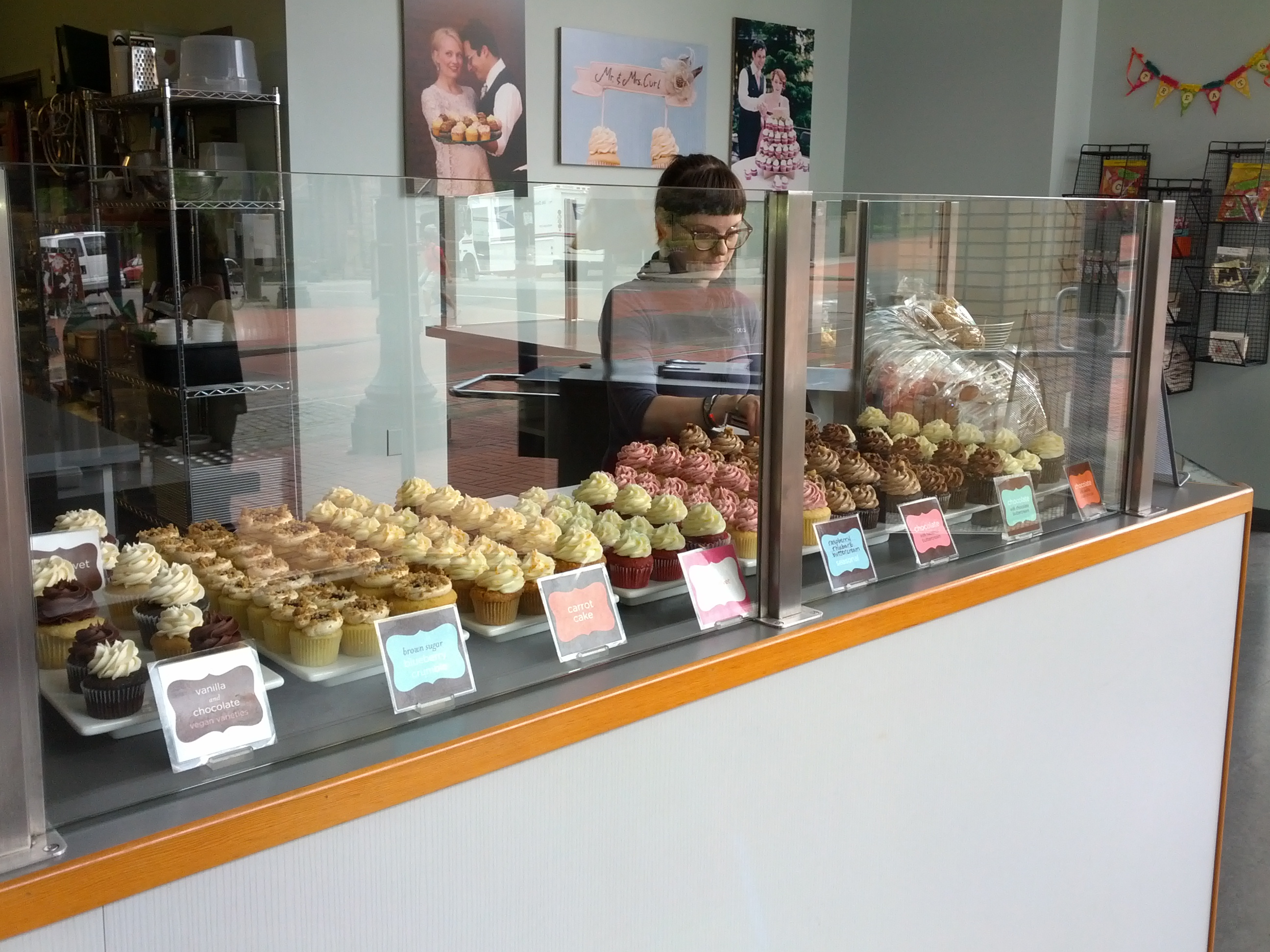 st cupcake counter