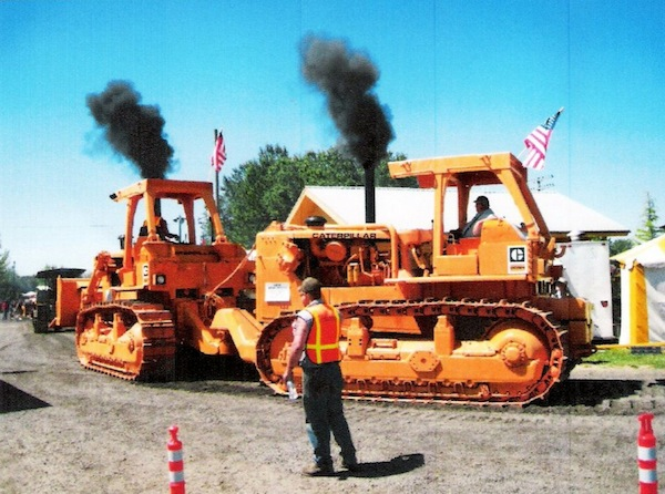steam up parade