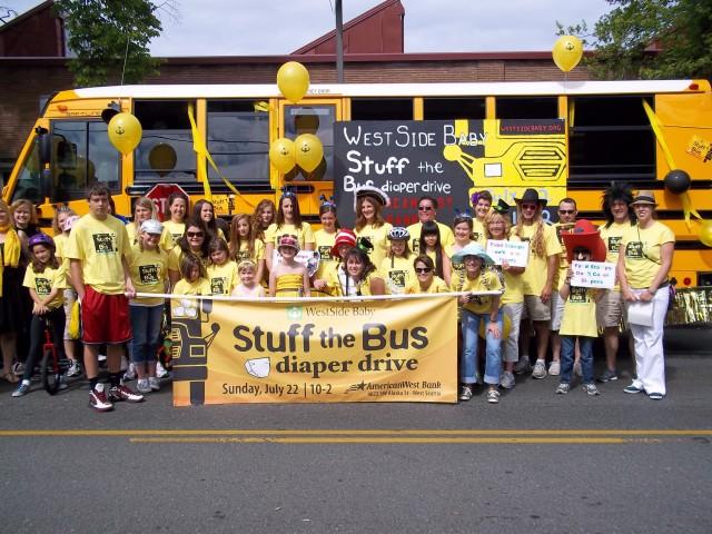 Stuff the Bus Diaper Drive 2012
