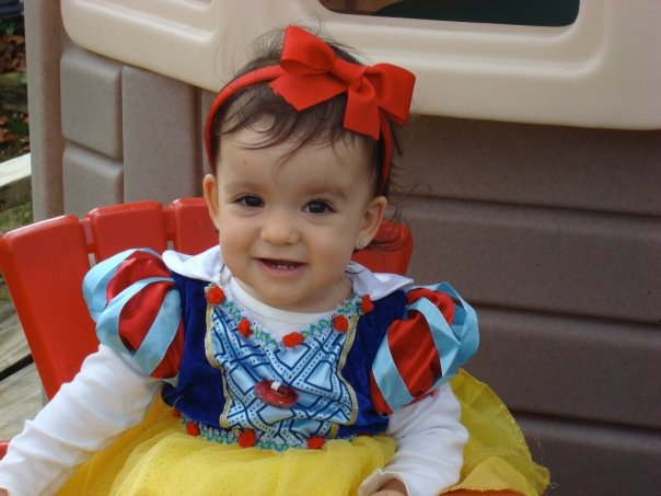 Baby in Snow White Costume