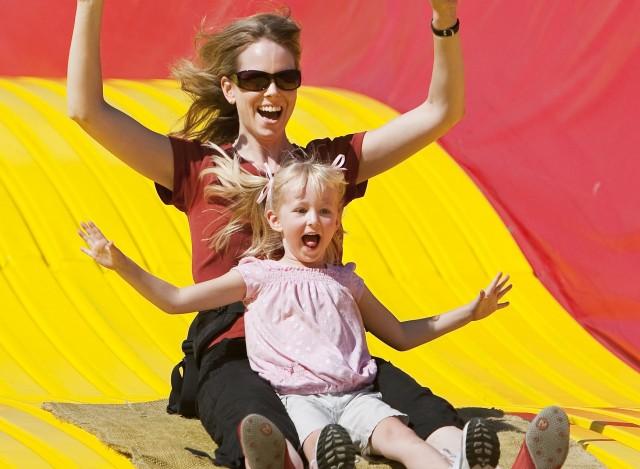 Big Slide at Fair