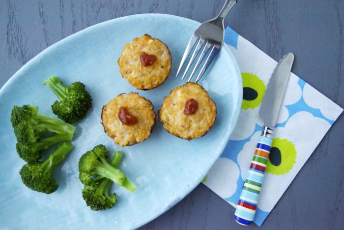 Chicken-Parmesan-Meatloaf-Bites