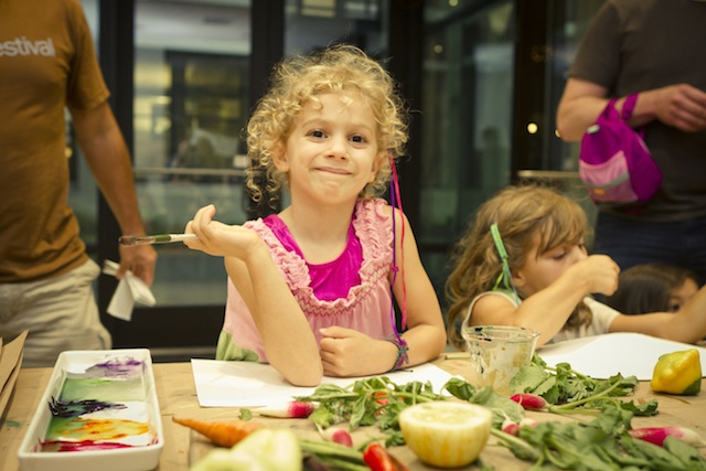 Purple Asparagus - Corks & Crayons | Corks & Crayons is Purple Asparagus' signature, annual event for families of all ages. This year's event included tastings from twelve of Chicago's top chefs – including Top Chef Contestant Heather Terhune, Thr