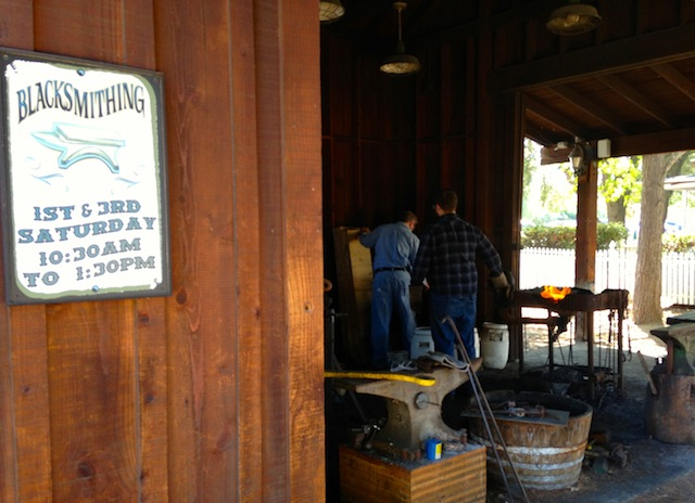 OLD POWAY PARK- BLACKSMITH