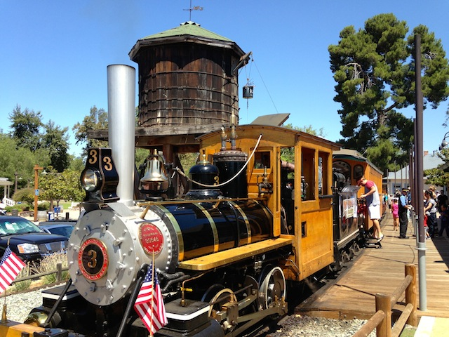 POWAY MIDLAND RR STEAM ENGINE
