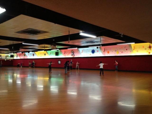 roller skate lesson