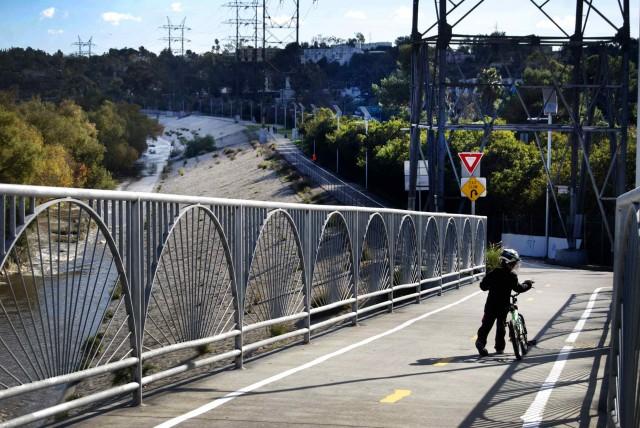 bike LA River