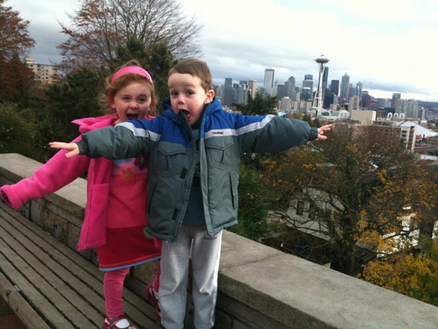 Kids Space Needle background