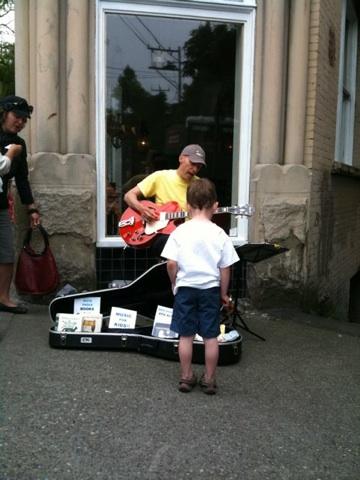 Caspar Babypants at Ballard Market