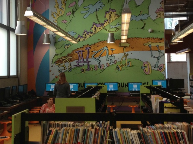 SD Library Seuss