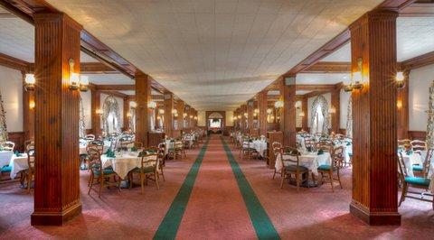 Skytop dining room