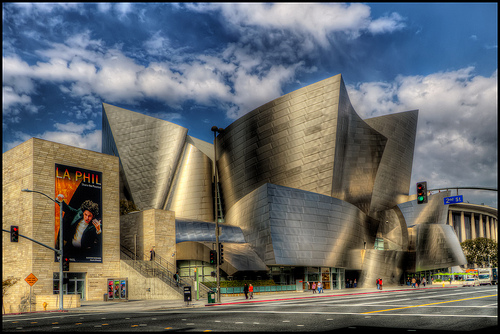 Walt Disney Concert Hall,