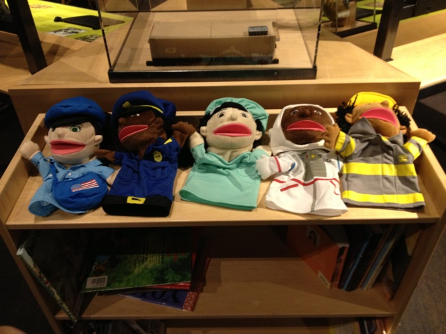 Puppets from PSC Race Exhibit