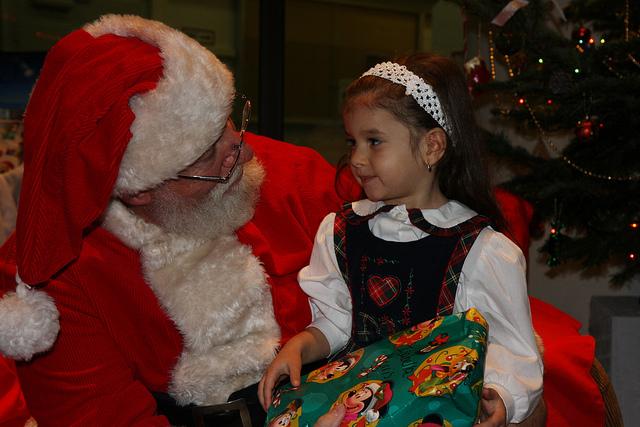 kid-and-santa