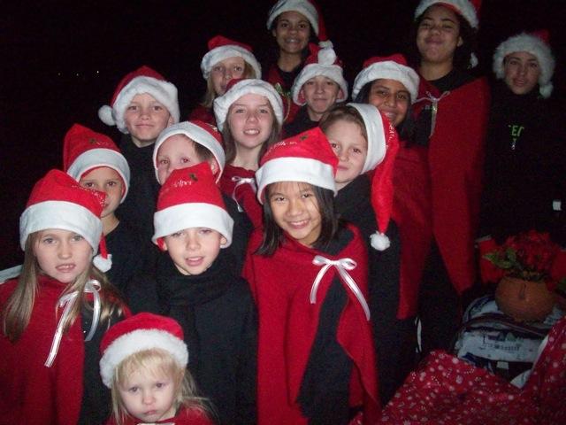 Kids Christmas Caroling