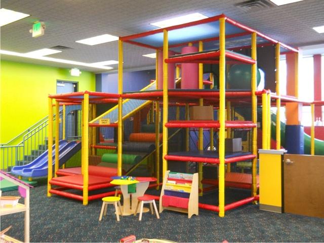Kids Climbing Area Bellevue Playspace