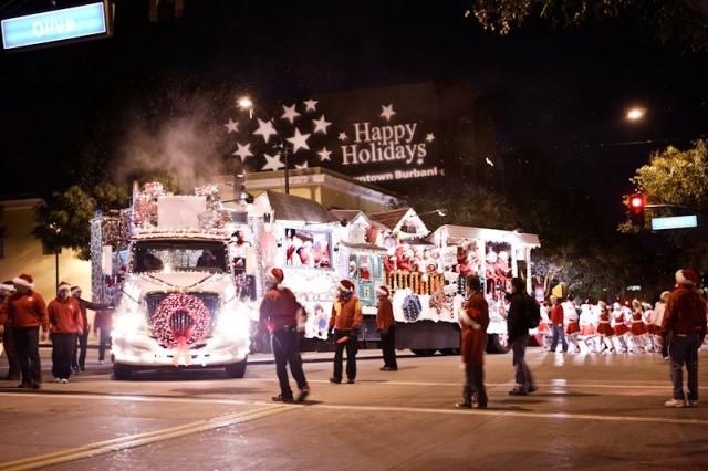 Magical Christmas Caroling Truck via Facebook 1