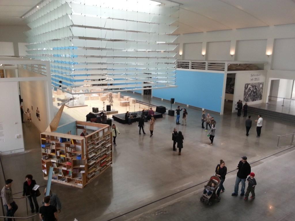 queens museum atrium