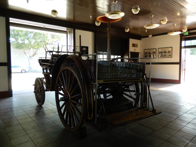 African American Firefighter Museum, Los Angeles Fire Museums, Interior