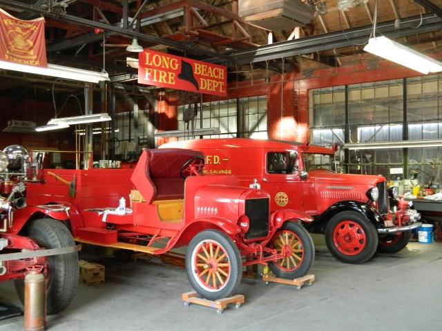 Los Angeles Fire Museums, Long Beach Fire Museum