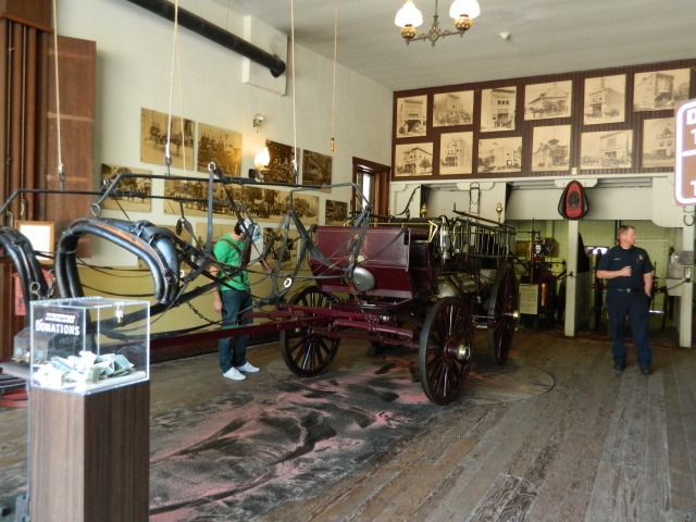 Old Plaza Firehouse, Los Angeles Fire Museums, Interior