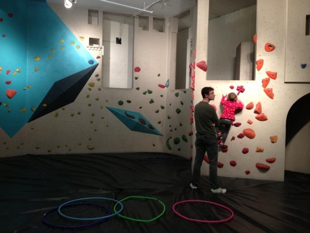 Seattle Bouldering Project Kids Area