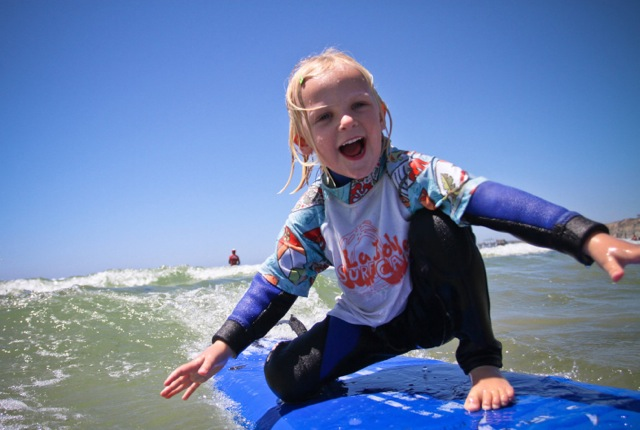 SurfDiva - girl on board