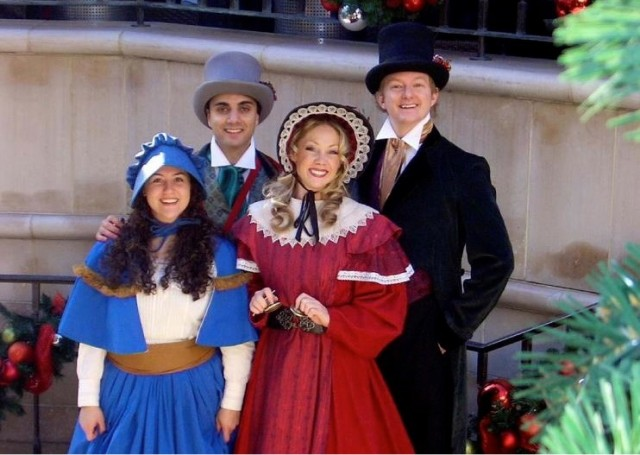 Two Rodeo Carolers Voa Facebook