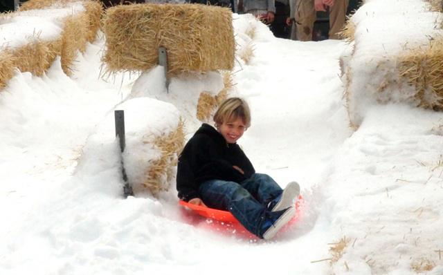 Winterfest-Mill-Valley-SnowSlide-Gary Ferber