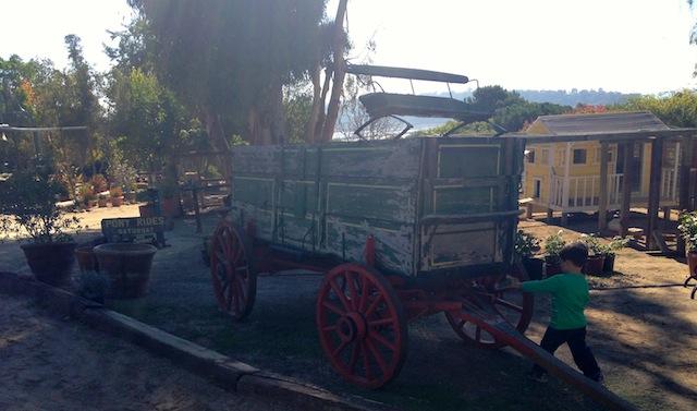 Feather Acres Farm wagon photo