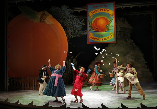 James and Peach Giant Peach and money