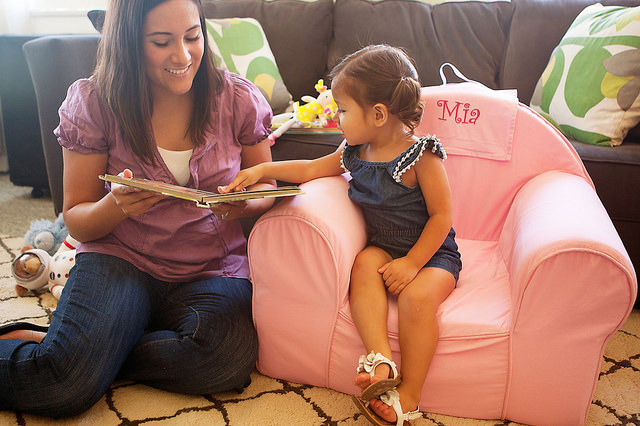 Mother and daughter reading Personal creations on Flickr