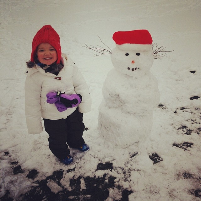 kid-snowman
