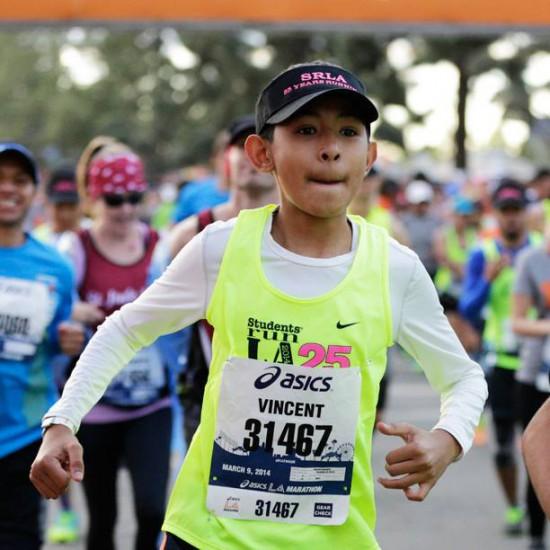 la marathon kid