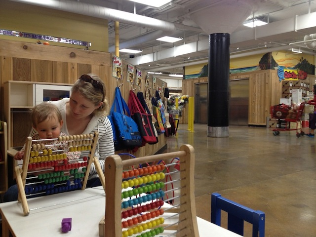 trader joes play area
